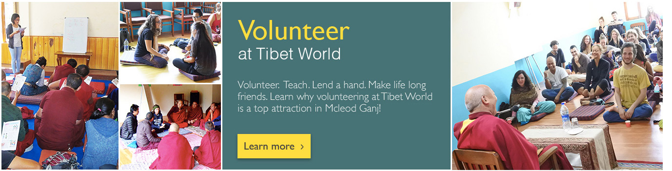 Volunteer at Tibet World