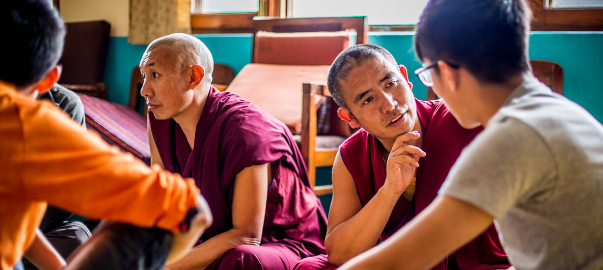 conversations with monks